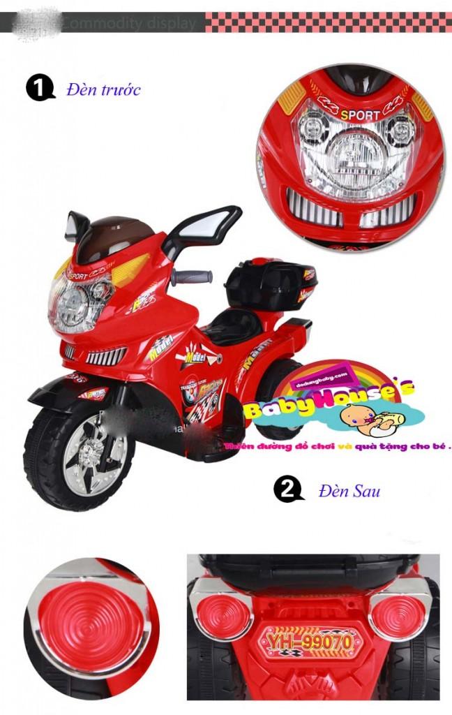 Xe máy điện trẻ em 99070