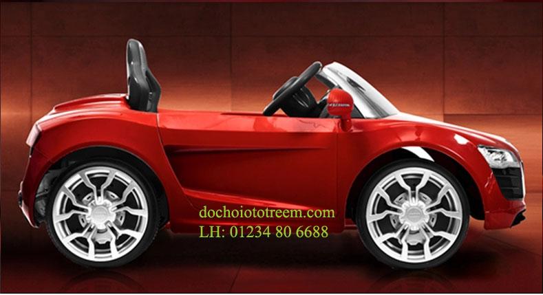 Ô tô trẻ em|ô tô trẻ em AUDI R8 đỏ cao cấp Hà Nội