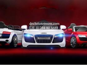 Xe ô tô điện trẻ em|ô tô điện trẻ em AUDI R8 cao cấp Hà Nội