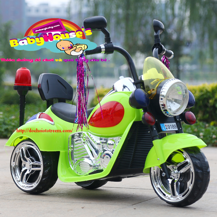Xe máy điện trẻ em Harley PK 9189