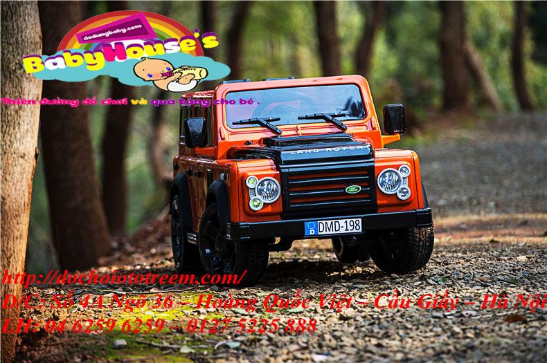 Xe ô tô điện trẻ em|Ô tô điện trẻ em Land Rover DMD198
