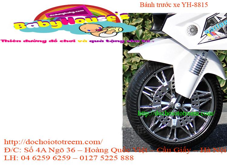 Bánh trước xe máy điện trẻ em YH-8815