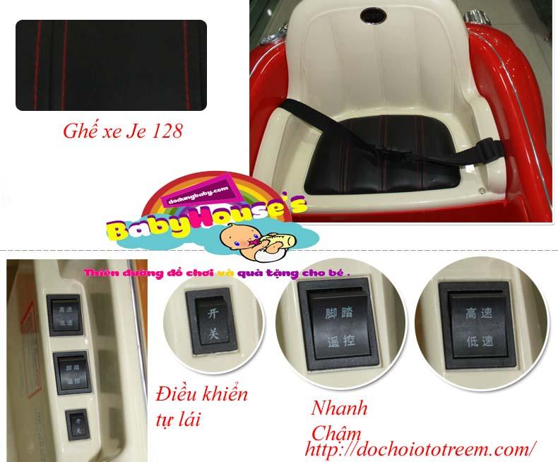 Công tắc xe ô tô điện trẻ em| ô tô điện trẻ em je128 cao cấp giá rẻ
