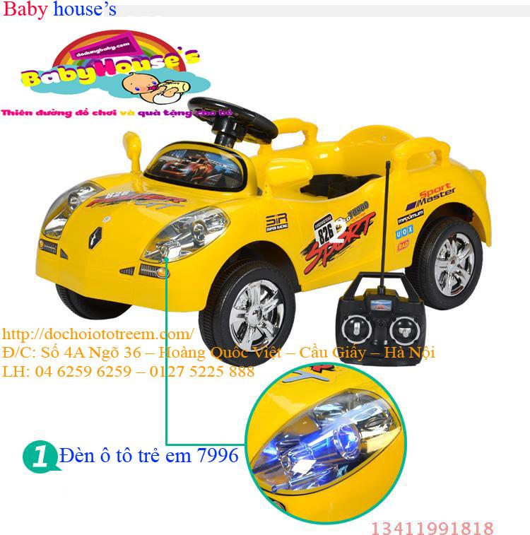 Ô tô điện trẻ em| ô tô điện trẻ em chạy điện 7996 giá rẻ