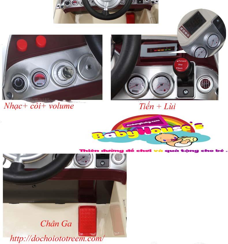 Chi tiết xe ô tô trẻ em 128