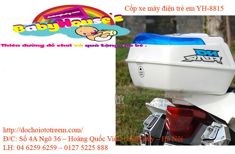 Cốp xe máy điện trẻ em YH-8815