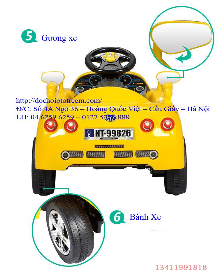 Xe ô tô điện trẻ em| ô tô điện trẻ em giá rẻ7996 hà nội