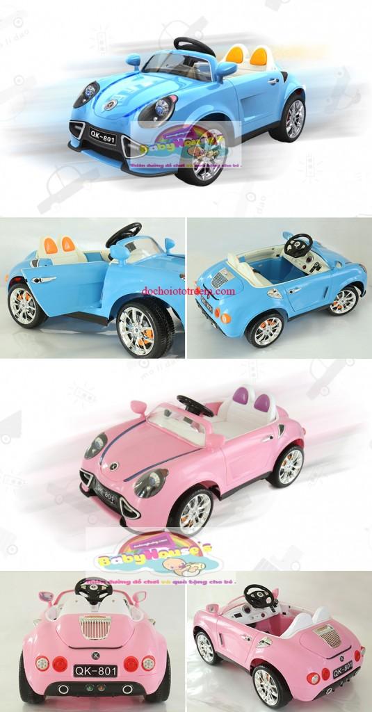 Xe ô tô trẻ em| ô tô trẻ em chạy điện QK-801