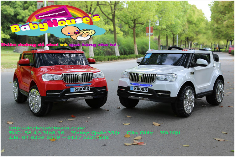 Xe ô tô điện trẻ em BMV S8088