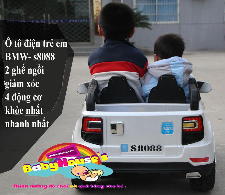 Xe ô tô điện trẻ em - ô tô điện trẻ em BMV S8088 hà nội