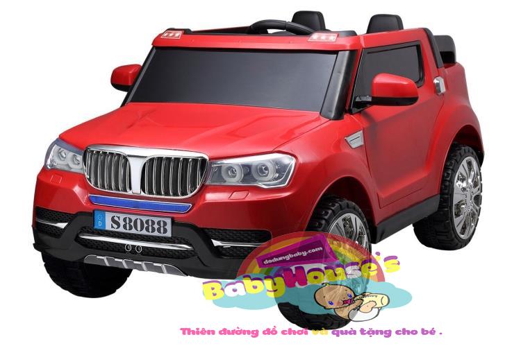 Xe ô tô trẻ em - ô tô điện trẻ em BMV S8088 cao cấp