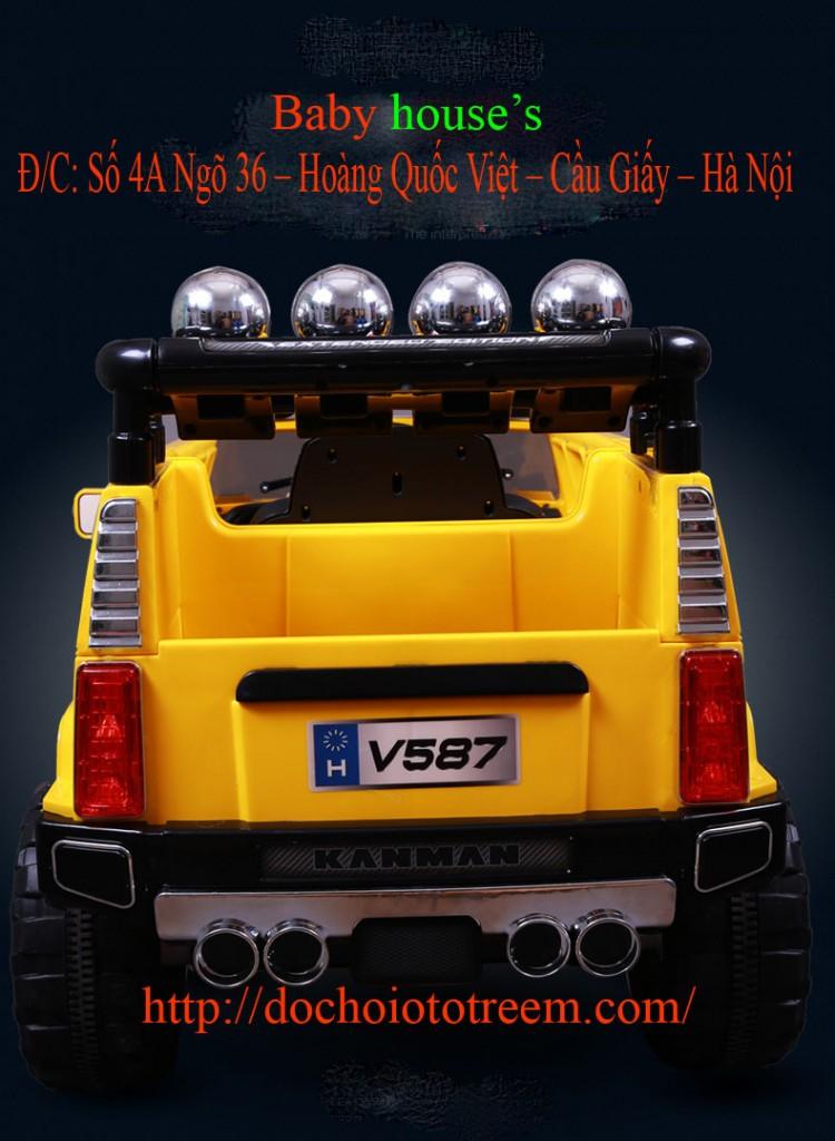 Xe ô tô điện trẻ em Xe ô tô điện trẻ em JJ255A cao cấp