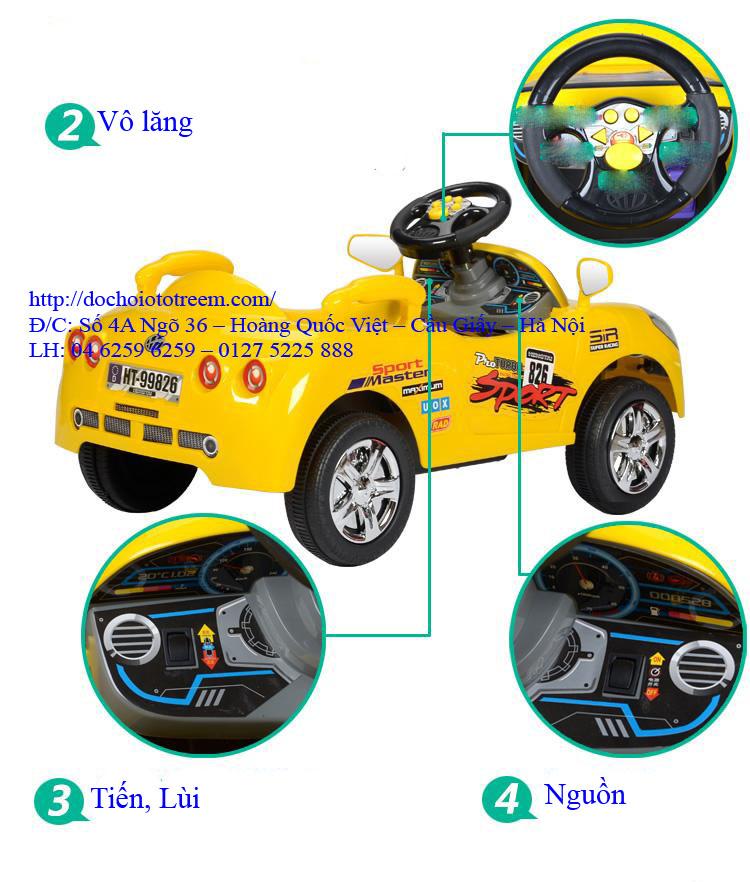 Ô tô trẻ em chạy điện| ô tô điện trẻ em 7996 cao cấp hà nôi