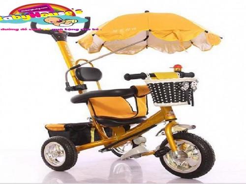 Xe ba bánh trẻ em|xe ba bánh trẻ em 5190 giá rẻ Hà Nội