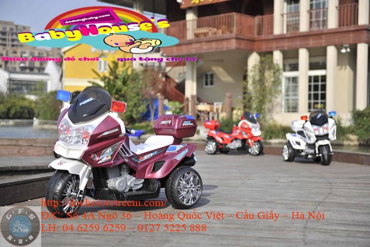 Xe máy điện trẻ em|xe máy trẻ em chạy điện YH-8815