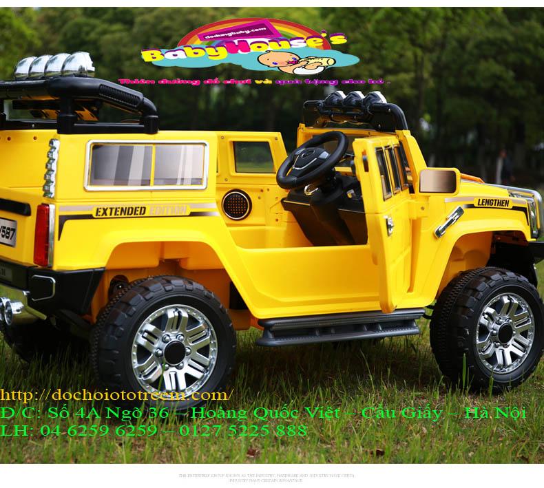 Xe ô tô điện trẻ em Xe ô tô điện trẻ em JJ255A Hà Nội