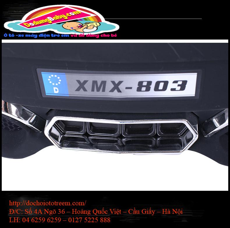 Biển số xe ô tô điện trẻ em cao cấp XMX-308