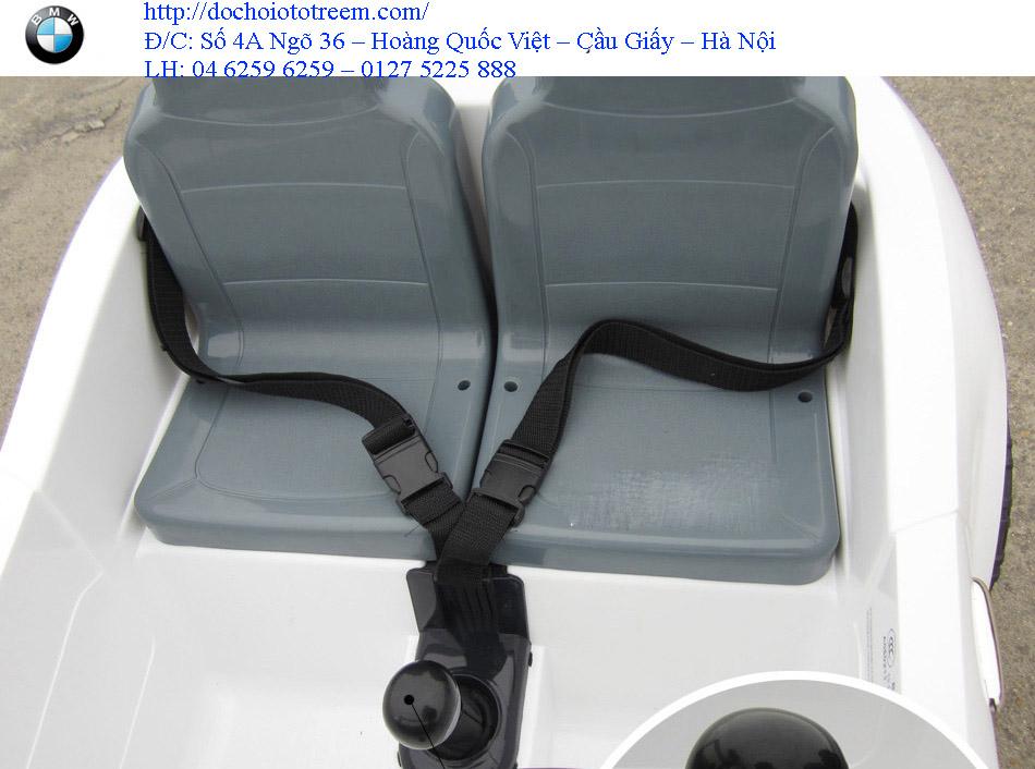 Ghế xe ô tô điện trẻ em 2 chỗ ngồi JB15