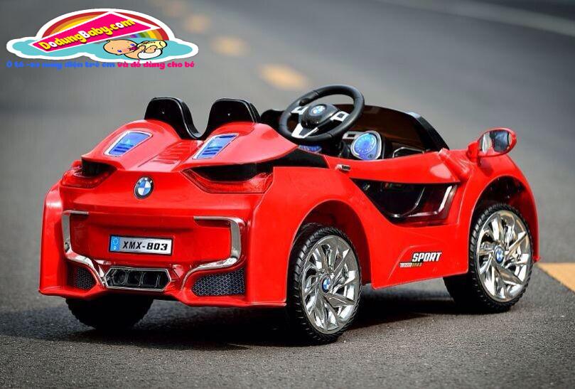Xe ô tô điện trẻ em|xe ô tô điện trẻ em cao cấp XMX-308 màu đỏ
