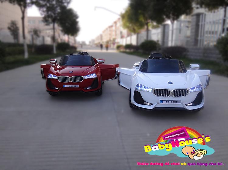 Xe ô tô điện trẻ em - ô tô điện trẻ em 8858 giá rẻ