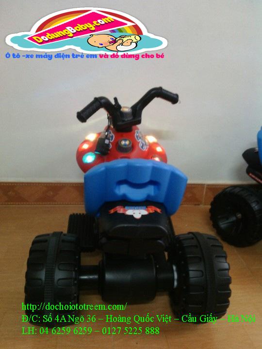 Xe máy điện trẻ em| xe máy điện trẻ em hình phi thuyền cao cấp