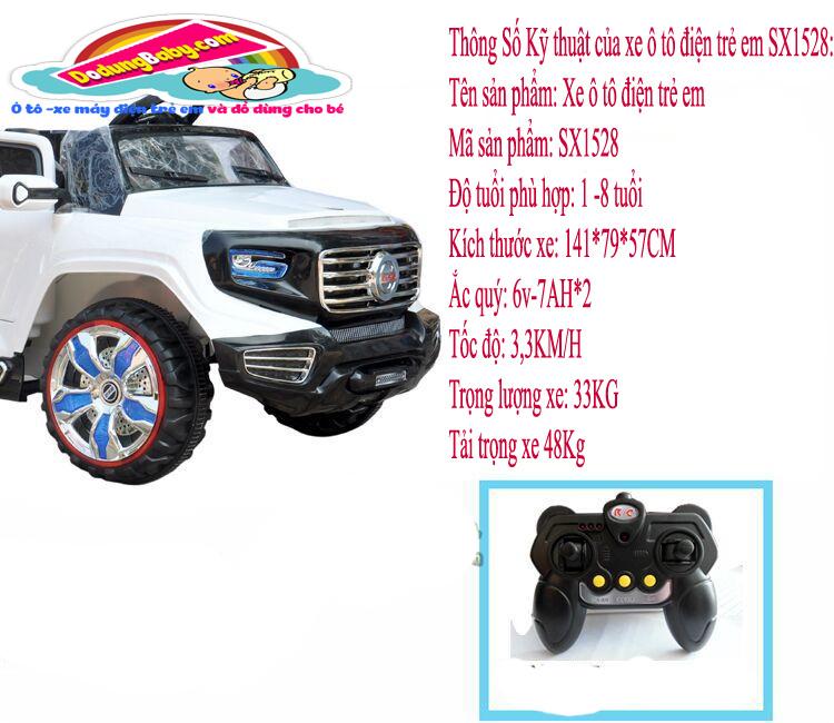 Xe ô điện trẻ em|ô tô trẻ em SX1528