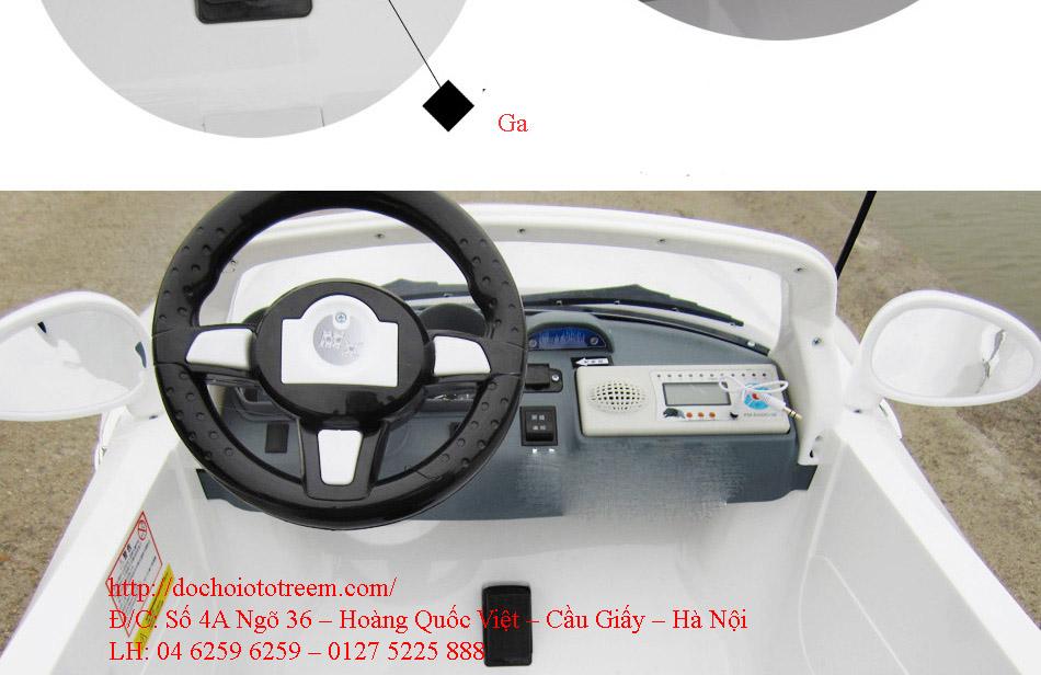 Xe ô tô điện trẻ em 2 chỗ ngồi cao cấp giá rẻ hà nội