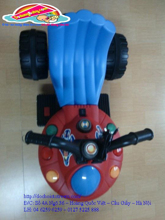 Xe máy điện trẻ em| xe máy điện trẻ em hình phi thuyền cao cấp giá rẻ