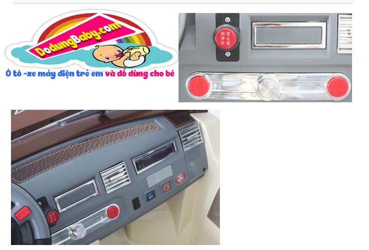 Bên phải xe ô tô điện trẻ em JJ205 giá rẻ Hà Nội
