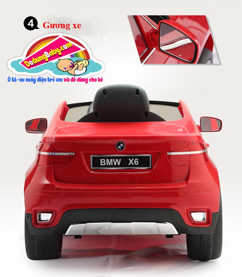 gương xe ô tô điện trẻ em BMW X6