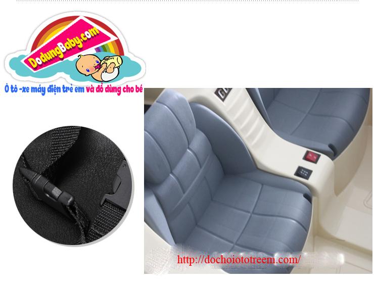 ghế xe ô tô điện trẻ em 2 chỗ ngồi cao cấp giá rẻ
