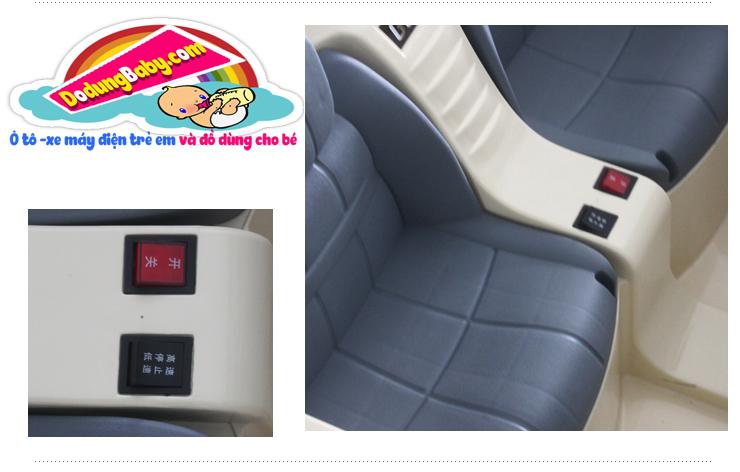 Nút tiến lùi xe ô tô điện trẻ em jj205