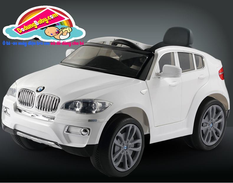 toàn cảnh xe ô tô điện trẻ em BMW X6