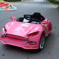 ô tô trẻ em yh-809 cao cấp 2 cánh mở chéo màu hồng