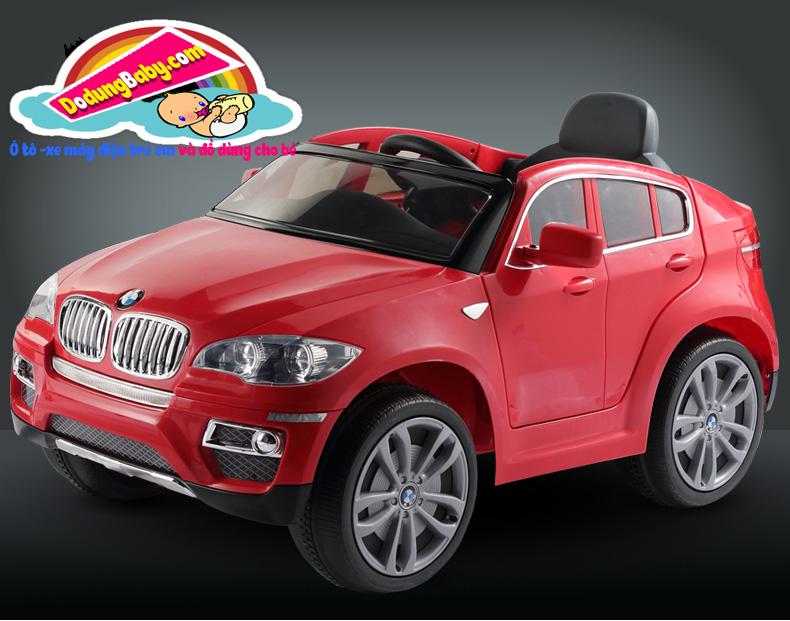 xe ô to điện trẻ em BMW X6 cao cấp