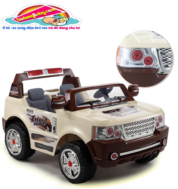 Ô tô điện trẻ em JJ205 2 chỗ ngồi giá rẻ