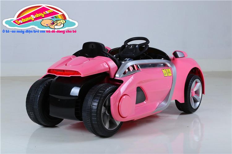 phía sau của xe ô tô diện trẻ em yh-809 hông