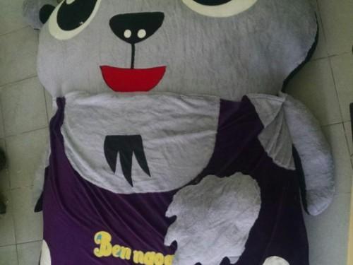 nệm thú bông cho bé con dê tại Nha Trang