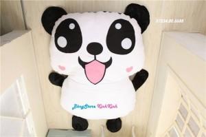nệm thú bông hình gấu Panda cao cấp 2 lớp giá rẻ Nha Trang