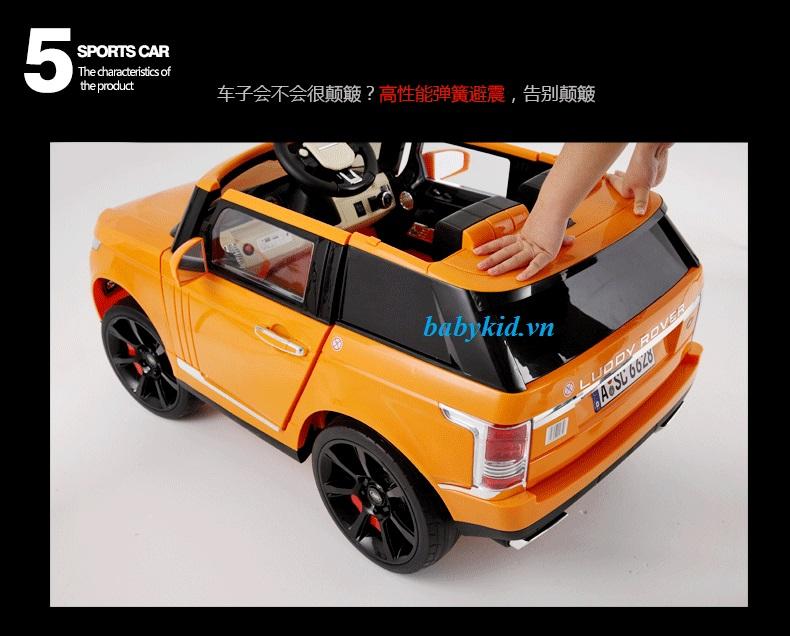 xe-ô-tô-điện-trẻ-em-6628-màu-vàng